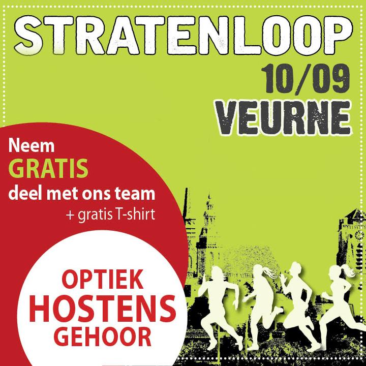 Stratenloop 'Laat mie moar Lopen' in Veurne 10/09